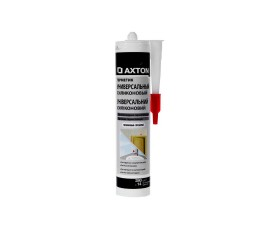 Герметик силиконовый - Axton - беcцветный - 0,28 л - арт.: LM-103