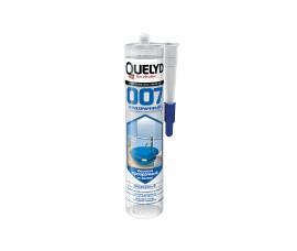 Монтажный клей-герметик - Quelyd 007 Crystal Clear (супер прозрачный) - 300 г - арт.: AU-130