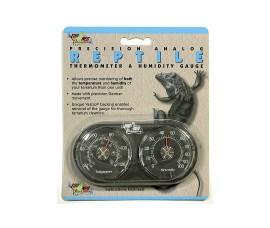 Термогигрометр механический - Zoo Med Dual Thermometer / Humidity Gauge - арт.: TH-22E