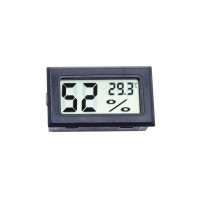Термогигрометр цифровой (черный) - арт.: AE-162