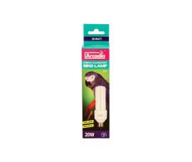 Лампа с УФ для птиц - Arcadia Compact Fluorescent Bird Lamp - 20 Вт - арт.: FBC20X