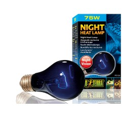Лампа лунного света - Exo-Terra Night Heat Lamp - A19 / 75 Вт - арт.: PT2130