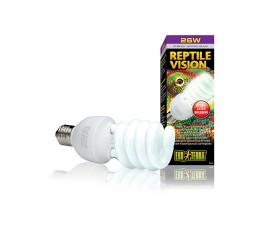 Лампа с УФ со специальным спектром - Exo-Terra Reptile Vision - 25 Вт - арт.: PT2346