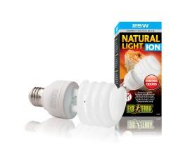 Ионизирующая лампа для террариумов - Exo-Terra Natural Light Ion - 25 Вт - арт.: PT3786