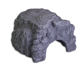 Пещера для террариумных животных - JBL ReptilCava GREY - L - серая - 23 x 20 x 10 см - арт.: 7109000