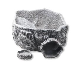 Кормушка-поилка - JBL ReptilBar Grey XXL - 30 x 25 x 12 см - серая - арт.: 7107500