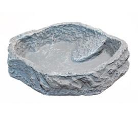 Кормушка-поилка - JBL ReptilBar Grey XS - 6 x 4 x 1 см - серая - арт.: 7107000