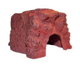 Пещера-укрытие для рептилий - JBL ReptilCava Red - M - арт.: 7109300