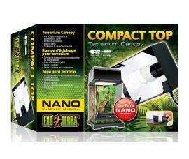 Exo-Terra Compact Top Nano terrarium canopy - SKU: PT2224