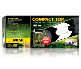 Exo-Terra Compact Top Mini terrarium canopy - SKU: PT2225