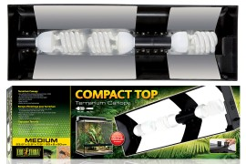 Светильник для террариумов Exo-Terra - Exo-Terra Compact Top Medium - арт.: PT2227