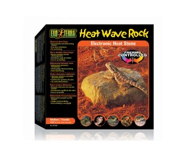 Декоративный камень с обогревателем - Exo-Terra Heat Wave Rock - 10 Вт - 15.5 x 15.5 x 5 см - арт.: PT2002