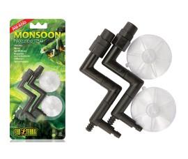 Комплект форсунок с присосками для системы осадков Exo-Terra Monsoon RS400 - по 2 шт. - арт.: PT2501