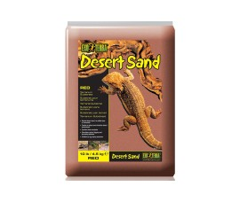 Песок для террариума - Exo-Terra Desert Sand - 4,5 кг - красный - арт.: PT3105