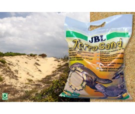 Песок для террариума - JBL TerraSand Natur-Gelb - 7,5 кг - желтый - арт.: 7101800