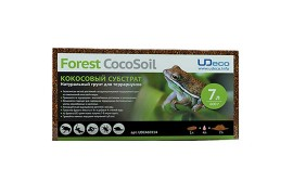 Кокосовая крошка - UDeco Forest CocoSoil - 7 л. (брикет) - арт.: UDC460114