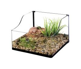 Террариум стеклянный для черепах - Exo-Terra Turtle Terrarium - 45 x 45 x 20/30 см (Small)ы - арт.: PT3746