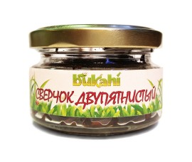 Bukahi - canned black cricket / 40 g, SKU: BU-192003