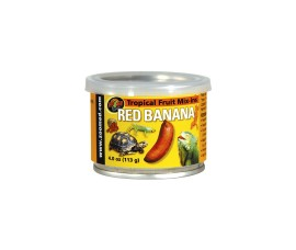 Тропический микс (красный банан) - Zoo Med Tropical Fruit Mix-ins Red Banana - 113 г - арт.: ZM-152E