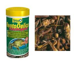 Корм для водных черепах (кузнечики) - Tetra ReptoDelica Grasshoppers - 250 мл / 28 г - арт.: 193901