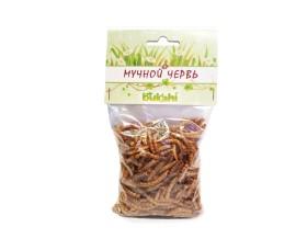 Bukahi - dried mealworm / 20 g, SKU: BU-193004