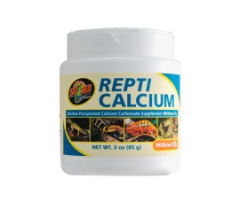 Кальций (не содержит D3) - Zoo Med Repti Calcium without D3 - 85 г - арт.: A33-3