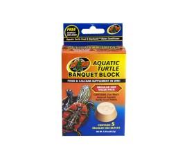 Кальциевый блок для черепах - Zoo Med Aquatic Turtle Banquet Block - 5 шт. в уп. - арт.: BB-51
