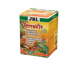 Добавка с витаминами и микроэлементами (порошок) - JBL TerraVit Pulver - 100 г - арт.: 7102900